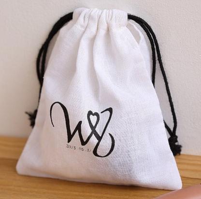 6455e0d4d6a9 Custom cotton flannel bag for handbag - Custon velvet bags